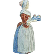Vintage Pencil Sharpener - Old Baker's Chocolate Advertising Girl