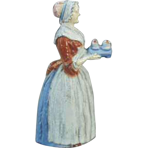 Vintage Pencil Sharpener - Old Baker's Chocolate Advertising Girl