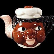 Vintage Black Memorabilia - Old Mammy Teapot from Japan