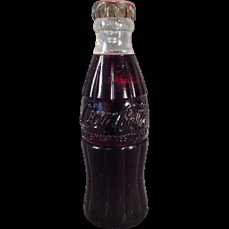 Vintage Coke Bottle Cigarette Lighter – Old Coca-Cola Soda Advertising – 1950's