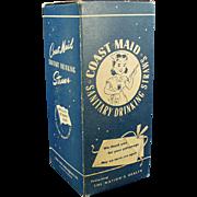 Vintage Paper Straws - Old Coast Maid - Large 500 Size Box