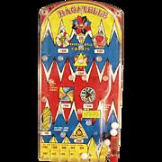 Vintage Marx Bagatelle Toy - Old Marble Game ca. 1950's