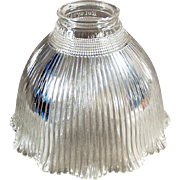 Vintage Light Fixture Shade - Old Holophane - I-5 Single Shade
