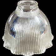 Vintage Light Fixture Shade - Old Holophane - I-5 Single Shade