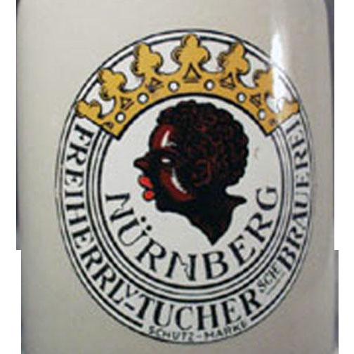 Vintage Black Memorabilia Beer Mug - Old German Stein .05L