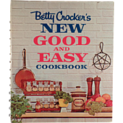 Vintage Betty Crocker's Recipe Book - New Good and Easy Cookbook - 1962