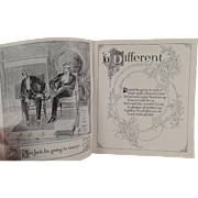 Vintage Booklet - Old Poetic Love Story and Garland Stove Advertising - 1893