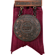 Vintage Boy's Club Medal – 25 Year Meritorious Service Award - 1947