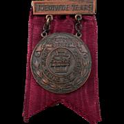 Vintage Boy's Club Medal – 25 Year Meritorious Service Award - 1947