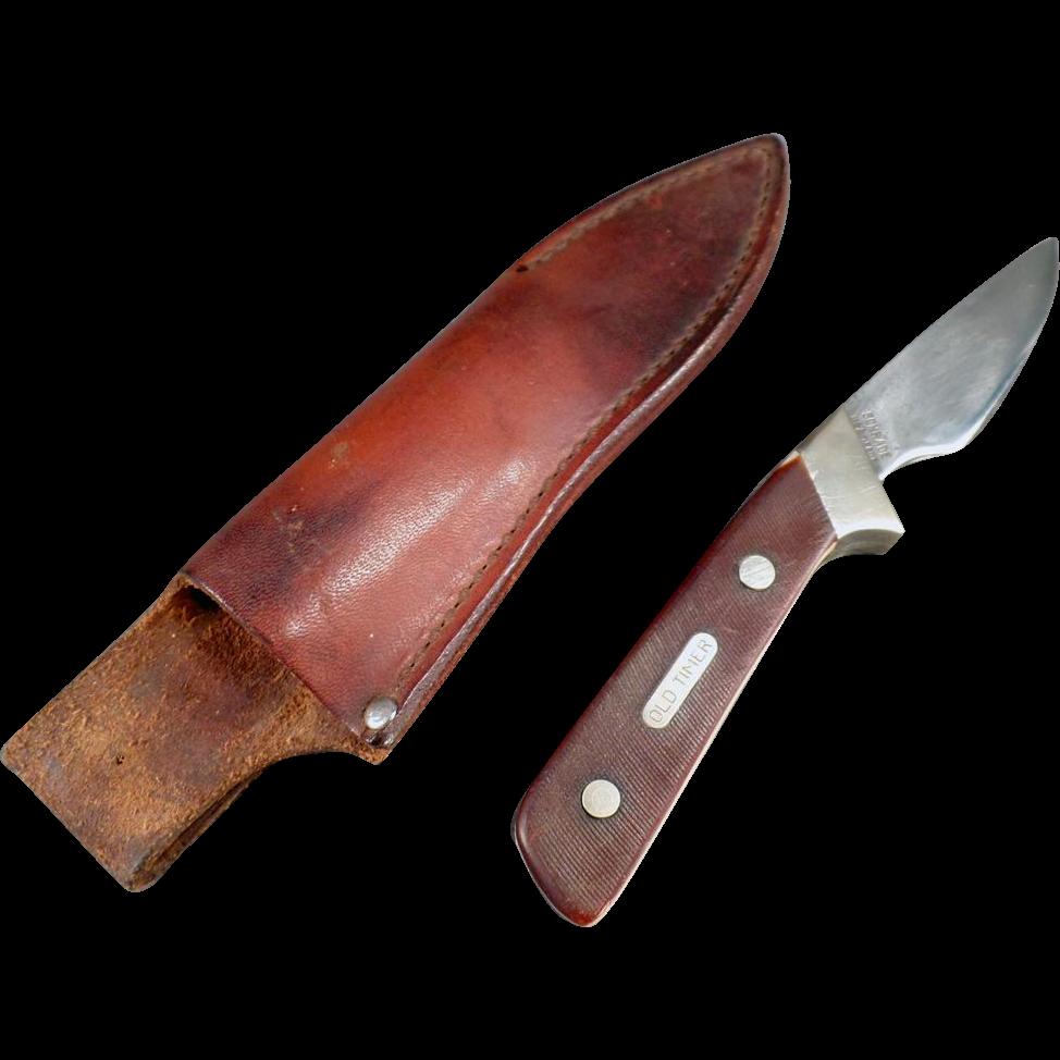 Vintage Schrade Knife - Old Timer Model 156OT known as Little Finger