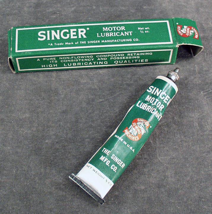 singer sewing machine grease
