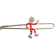 Vintage Tie Bar - Old Reddy Kilowatt Advertising Tie Bar