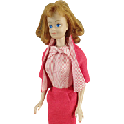 Vintage Mattel Midge Doll with Red/Titan Hair with Old Busy Gal #981 Outfit