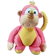 Old Hasbro Stuffed Animal – Colorful Disney Wuzzle - Rhinokey