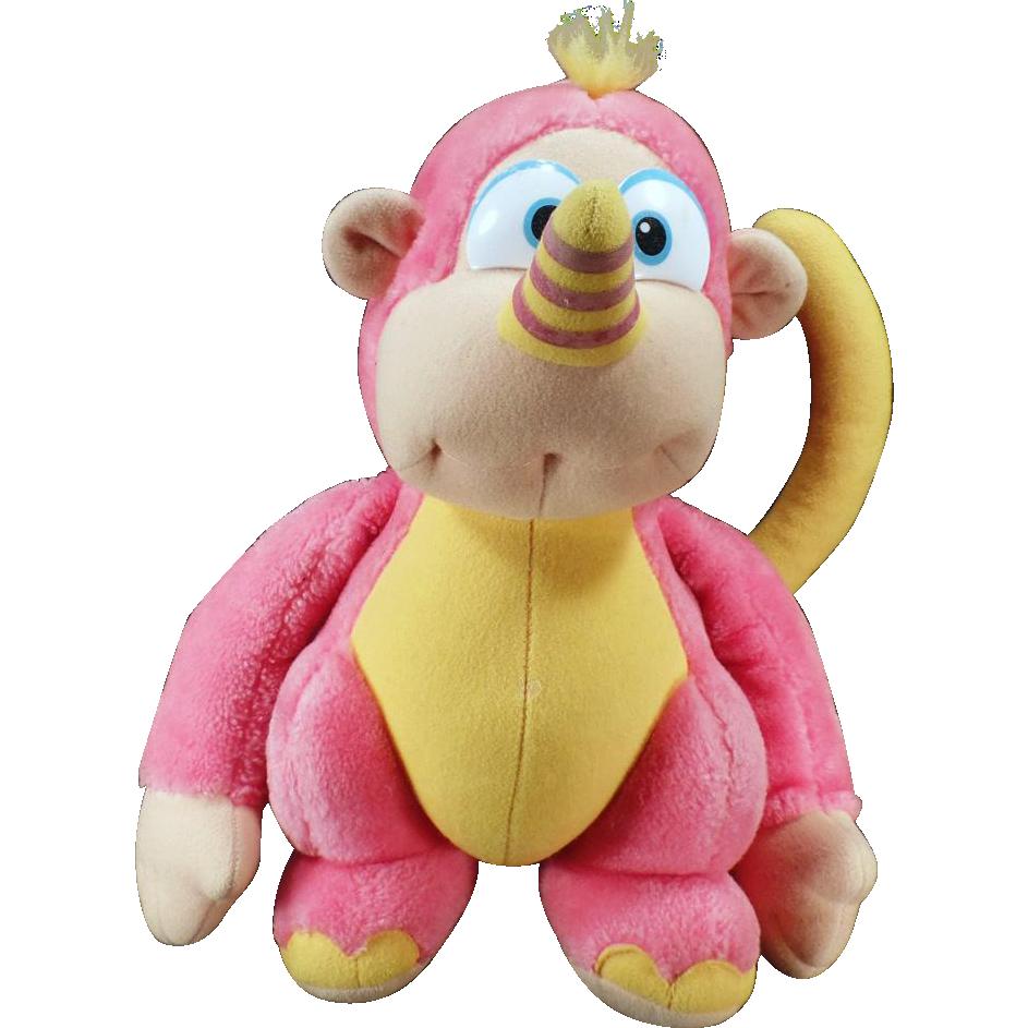 Old Hasbro Stuffed Animal – Colorful Disney Wuzzle - Rhinokey