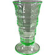 Vintage Soda Fountain Glass- Old Paden City Malt Glass - 2 Available in Green