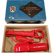 Vintage Traveling Light – Old Ford Accessory Trouble Light