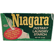 Vintage Niagara Starch Box - Nice Laundry Room Decorating Item