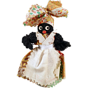 Vintage Black Memorabilia - Old Souvenir Bell - New Orleans - Black Mammy