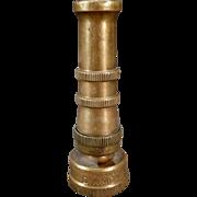 Vintage Garden Hose Nozzle – Old Sherman Diamond Brass Nozzle