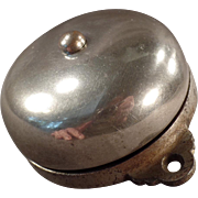 Antique Mechanical Door Bell - Patent 1899 - Simple Old Doorbell