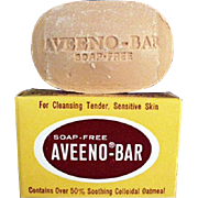 Vintage Soap Sample - Old Aveeno Advertising Sample from the 1950's