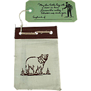 Vintage Yellowstone Park Souvenir - Promotional Mailer with Old Photographs