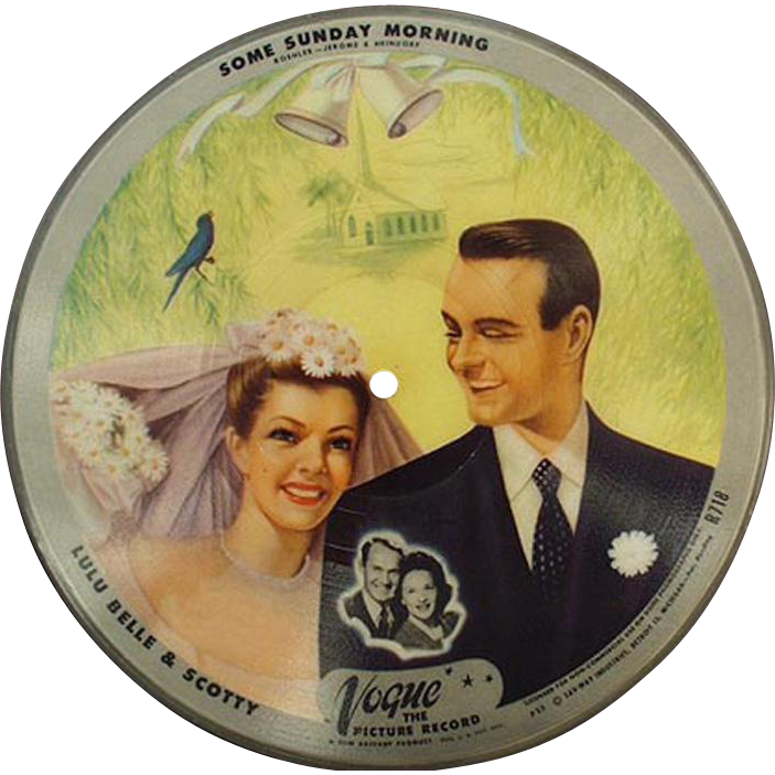Vintage Vogue Picture Record - R718 - Some Sunday Morning / In The Dog House Now