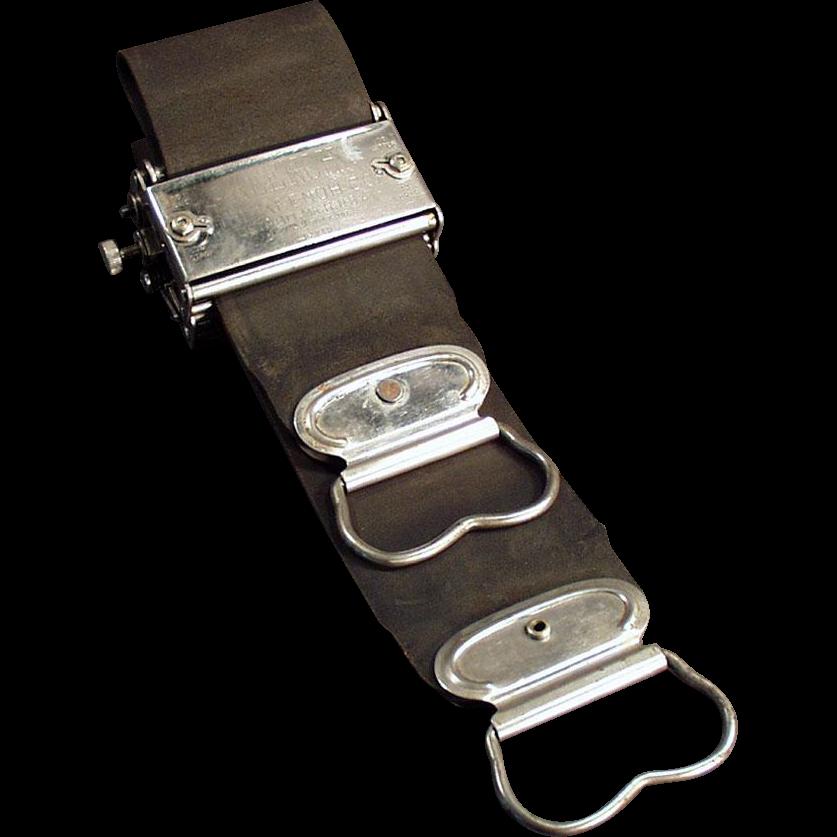 Vintage Razor Sharpener - Old Keenoh Stropper for Straight Razors or Safety Razors - 1907