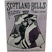 Vintage Sheet Music - 1913 Scotland Bells - Waltzes
