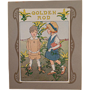 Framable Vintage Flower Seed Packet Art - Nice Graphics with Young Children
