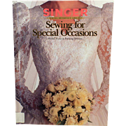 Old Reference Book - Singer Sewing for Special Occasions – Bridal, Prom and Evening Dresses