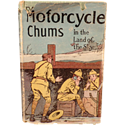 Vintage Hardbound Book - Old Novel - Motorcycle Chums - Land of the Sky by Andrew Carey Lincoln