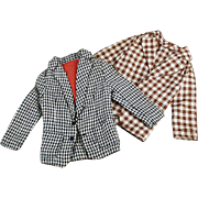Vintage Clothes Mattel's Old Ken Doll - Two Casual Jackets