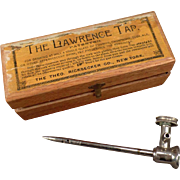 Antique Lawrence Tap for Champagne and Other Effervescent Drinks - 1876
