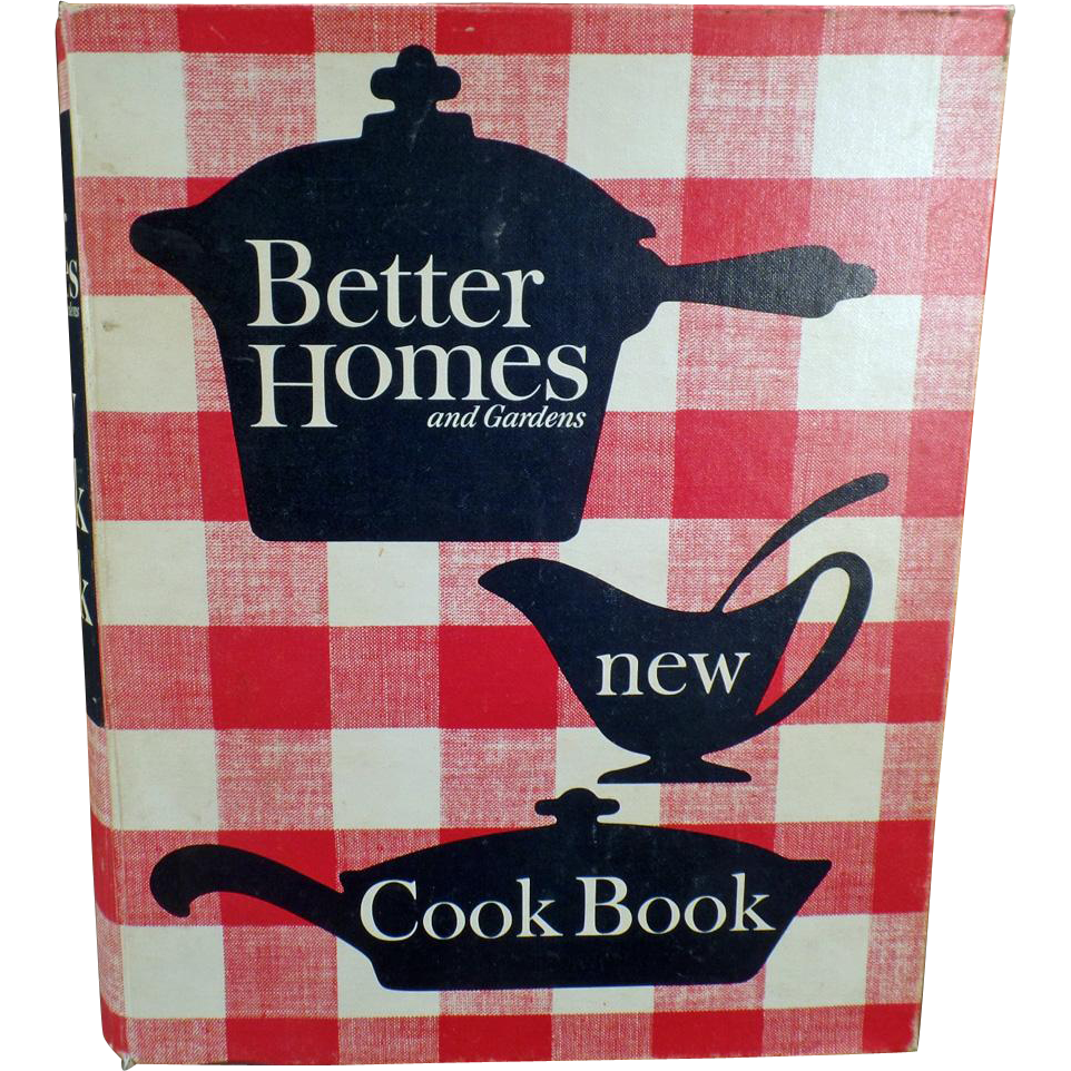 """Vintage Better Homes and Gardens """"New"""" Cook Book – - Classic Recipe Book - 1965 Copyright"""