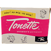 Vintage Tonette Box - Old Toni Children's Permanent Box