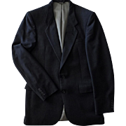 Vintage Nino Cerruti Jacket - Rue Royale - Academy Award Clothes - Old Wool Suit Jacket