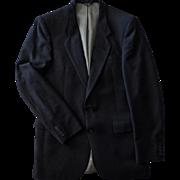 Vintage Nino Cerruti Jacket - Rue Royale - Academy Award Clothes - Old Wool Suit Jacket