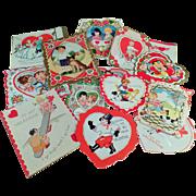 Vintage Valentine Assortment -  Assortment of Fun Old Valentine Designs