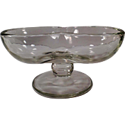 Vintage Soda Fountain Glassware - Old Double Scoop Sundae Dish - Fun but Simple - 3 Available