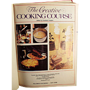 Vintage Cookbook - The Creative Cooking Course by Turgeon -1975 Creative Homemaker's Academy Hardback