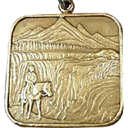Vintage Idaho Souvenir - Bicentennial 1776 - 1976 Key Chain
