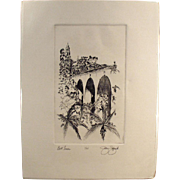San Diego's Balboa Park - Bell Tower & Cabrillo Bridge - Artist Signed, Numbered Print