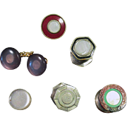 Vintage Cuff Links – Assortment of Interesting Old Cuff Links