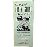 Vintage Restaurant  Menu – The Original Coney Island Sandwich Shop of Portland, Oregon