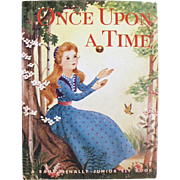 Vintage Story Book - Once Upon a Time - 1955 Picture Book - Tale of the Frog Prince