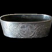 Vintage Souvenir Napkin Ring – California El Camino Real – Silver Plate