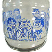 Vintage Carafe with Kool-Aid Kids - Great for Any Summer Drink