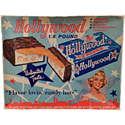 Vintage Candy Box - Hollywood Candy Bar Box – Colorful Graphics